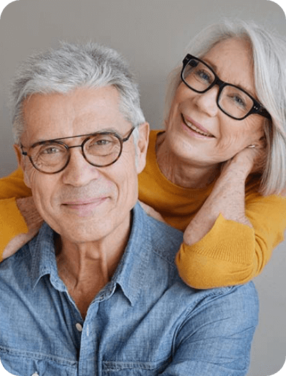 Varifocal progressive glasses