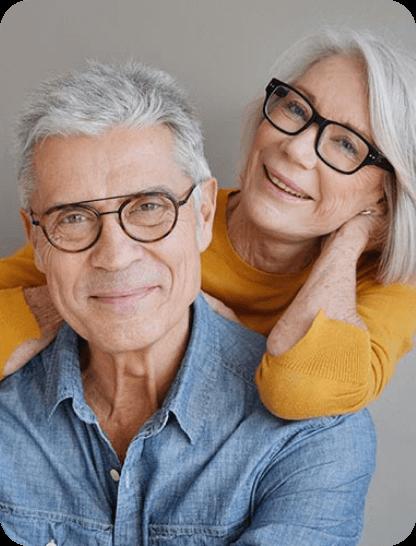 Varifocal progressive glasses