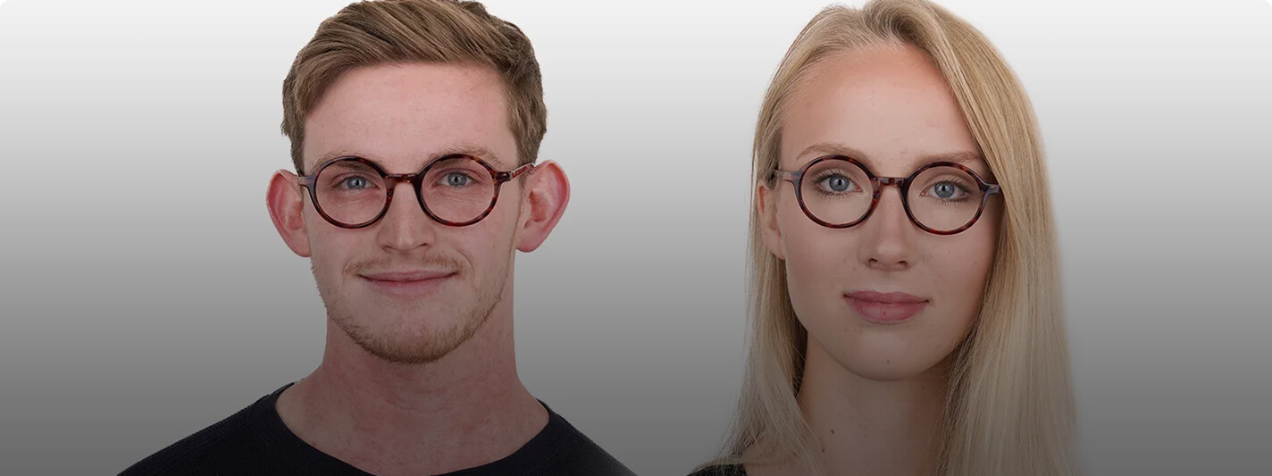 What makes the oval glasses frames popular