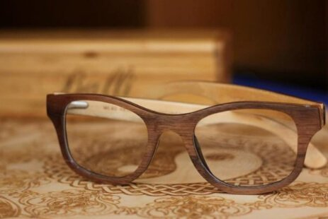 Wooden Frame Glasses t1
