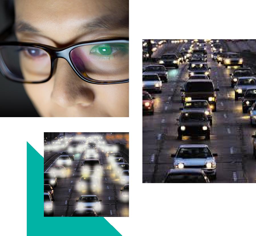 anti-reflective lenses