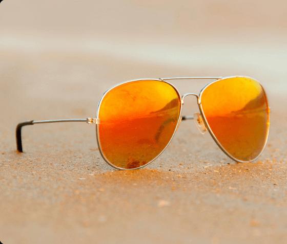 aviator beach sunglasses