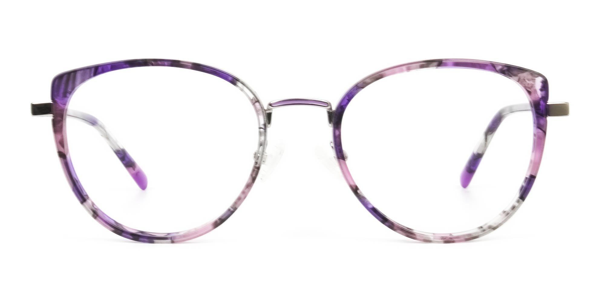 Amber Tortoise Cat-Eye Glasses