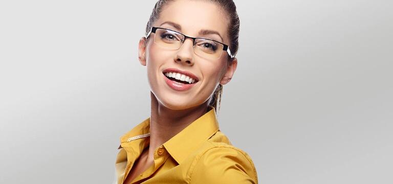 buy half rim glasses