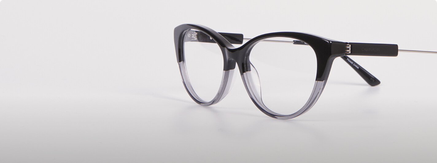 calvin klein glasses cateye