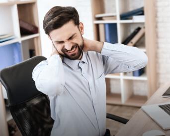 digital eye strain glasses for neck and shoulder pain