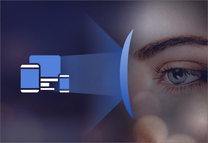 how digital eye strain glasses work?