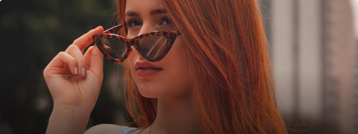 iconic cateye sunglasses