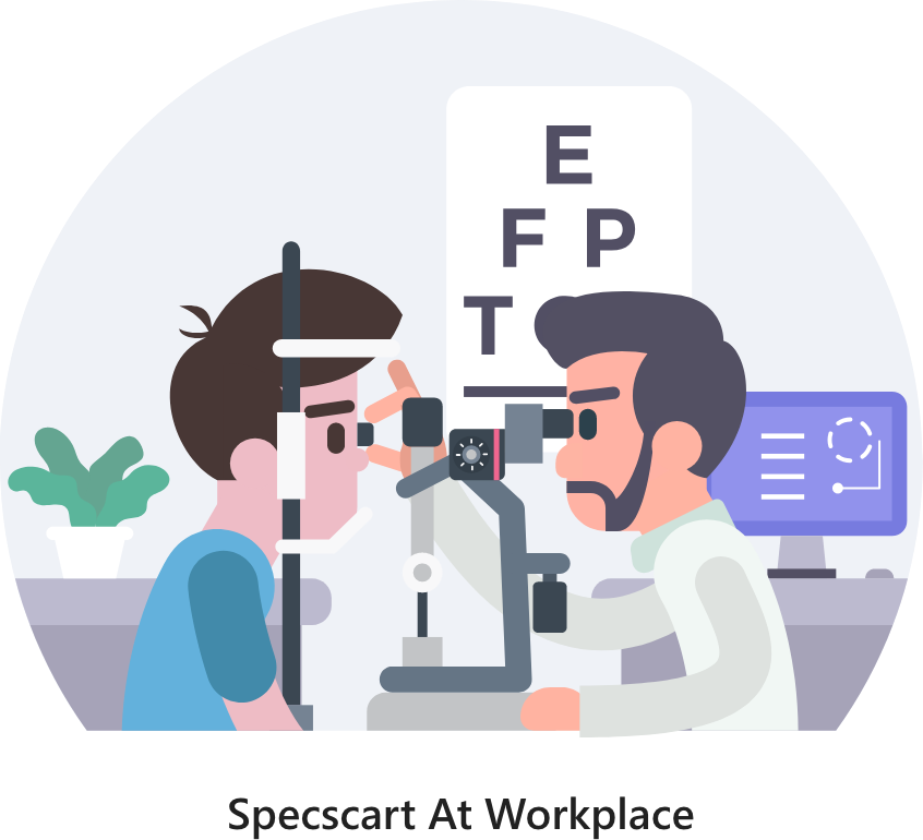 Specscart Corporate Eye Test