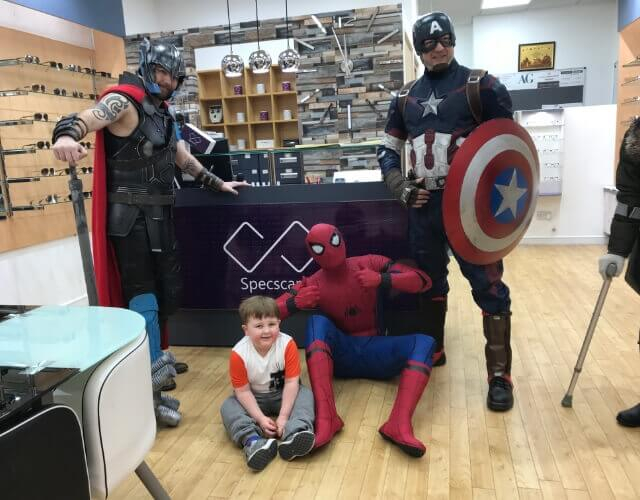 walkden opticians meet the stars