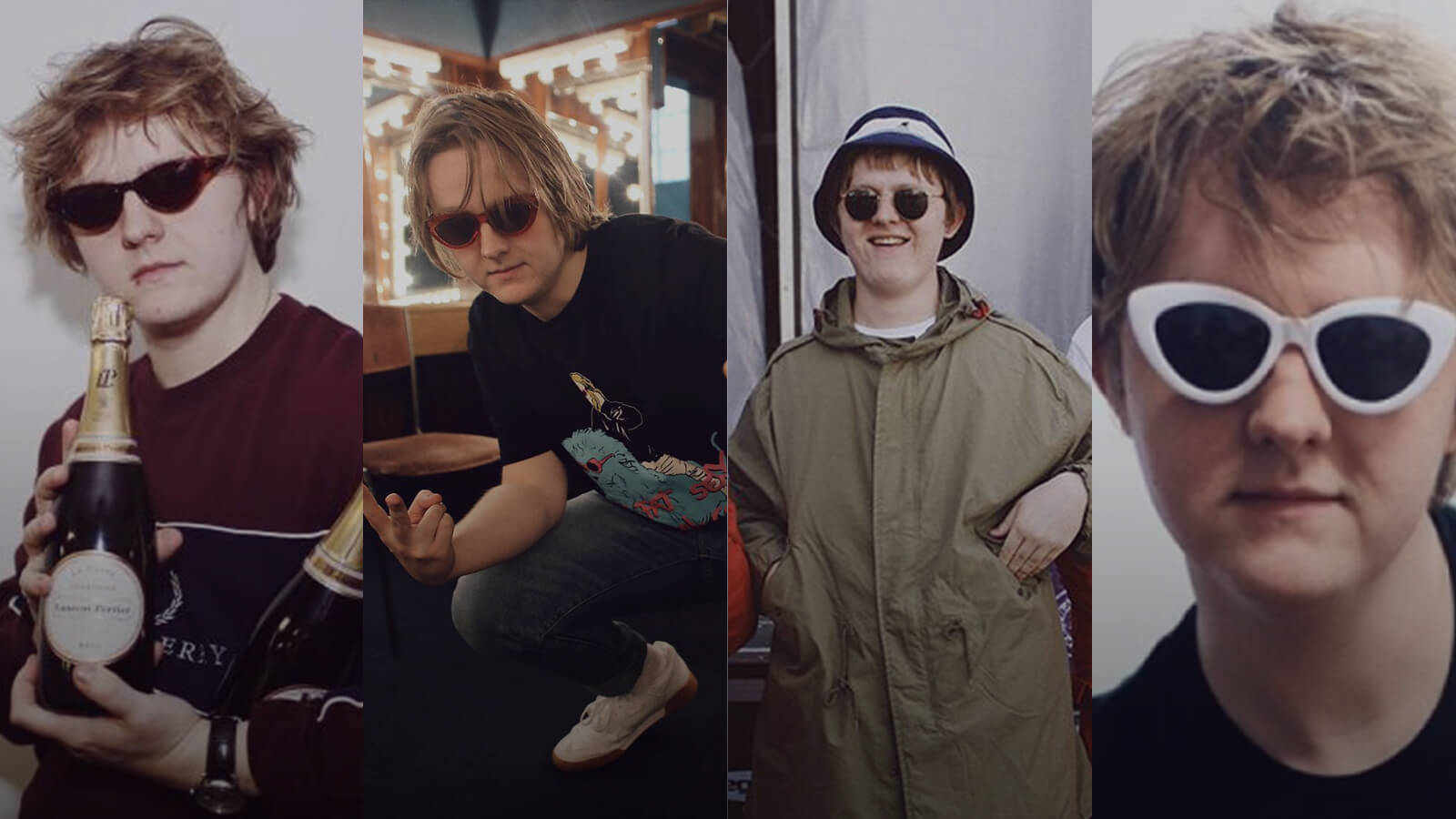 Get the look in Sunglasses: Lewis Capaldi Edition.
