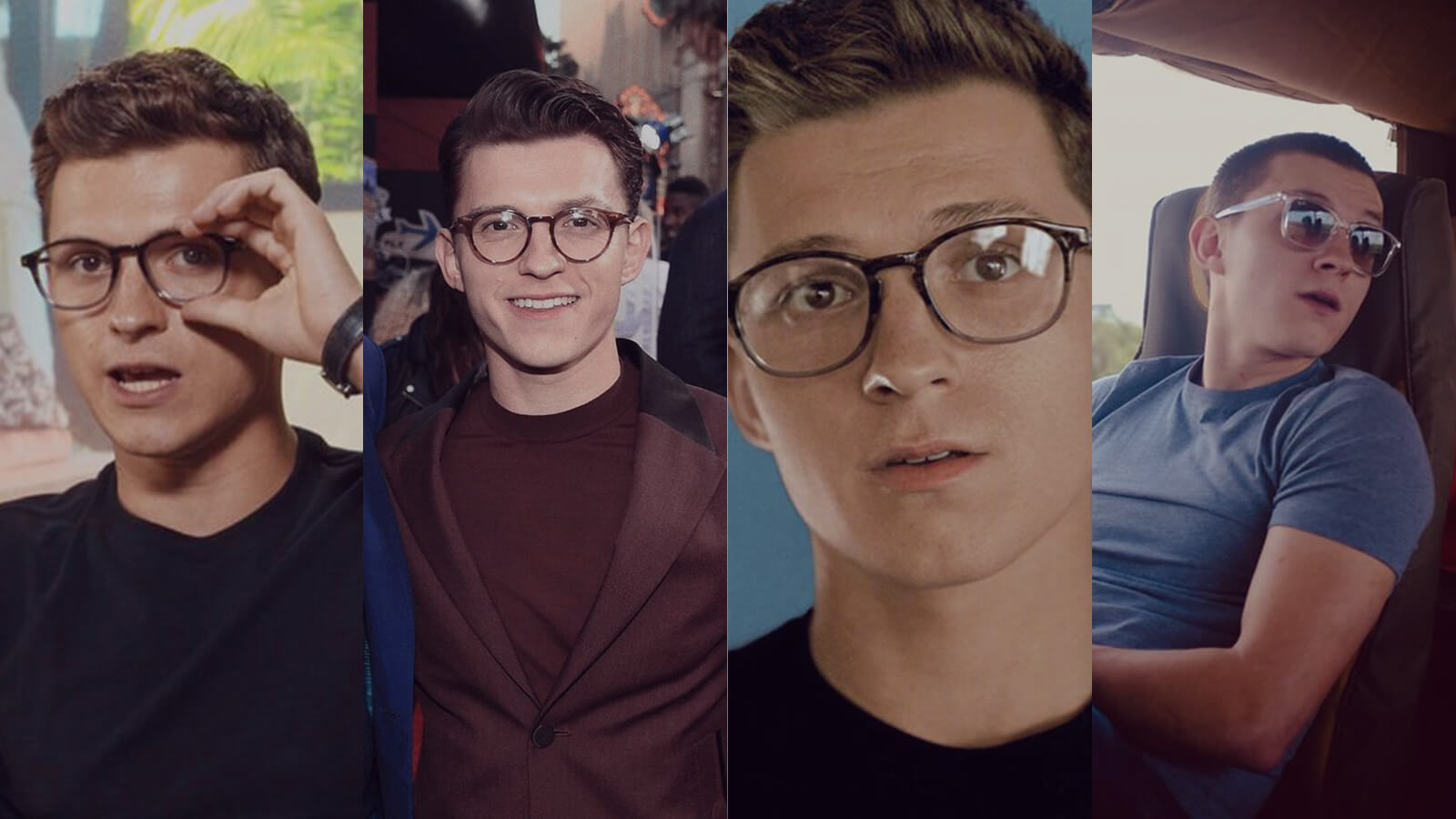 Get the look in glasses: Tom Holland Edition