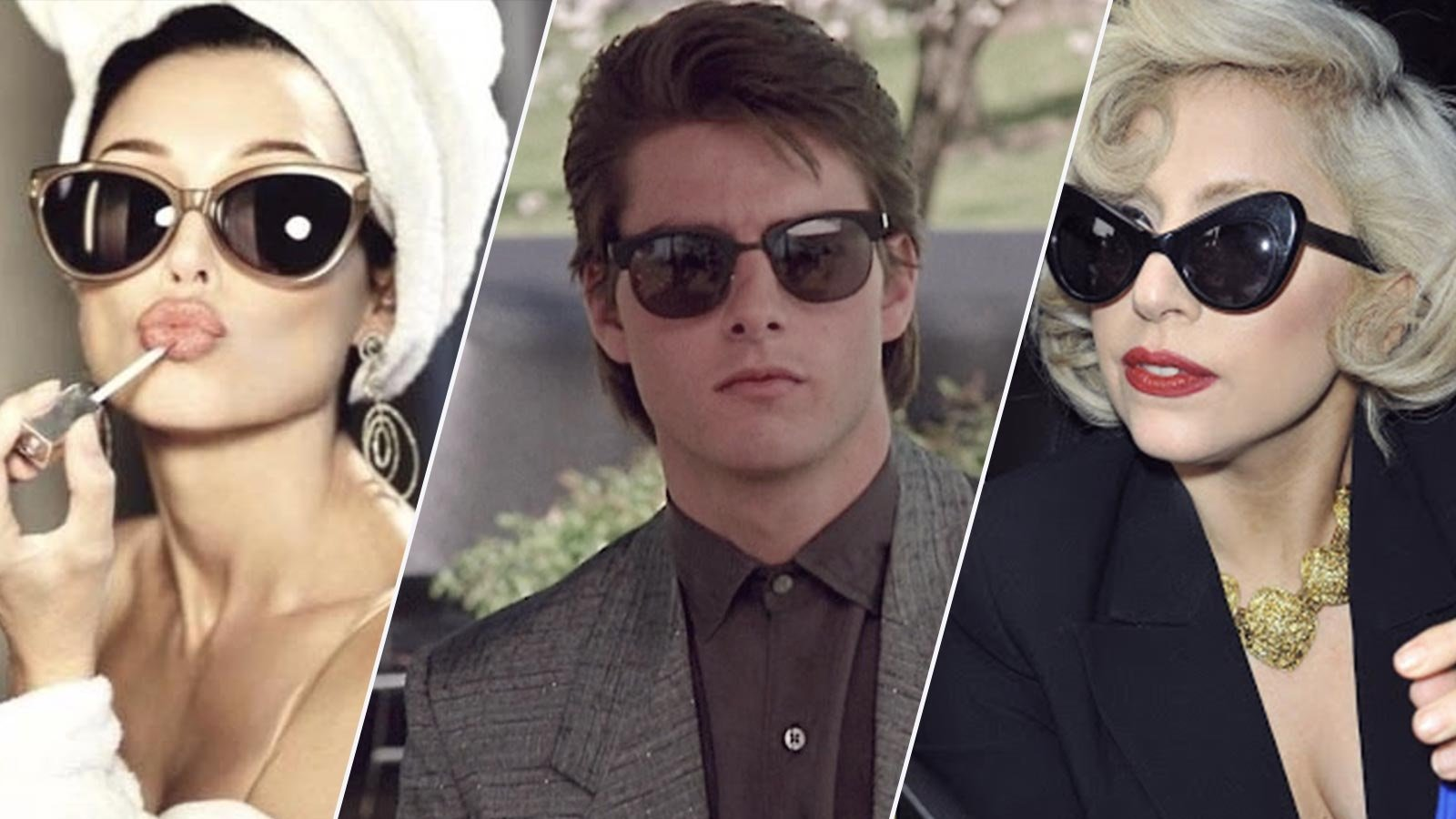 Let 80s sunglasses styles help you express yourself better