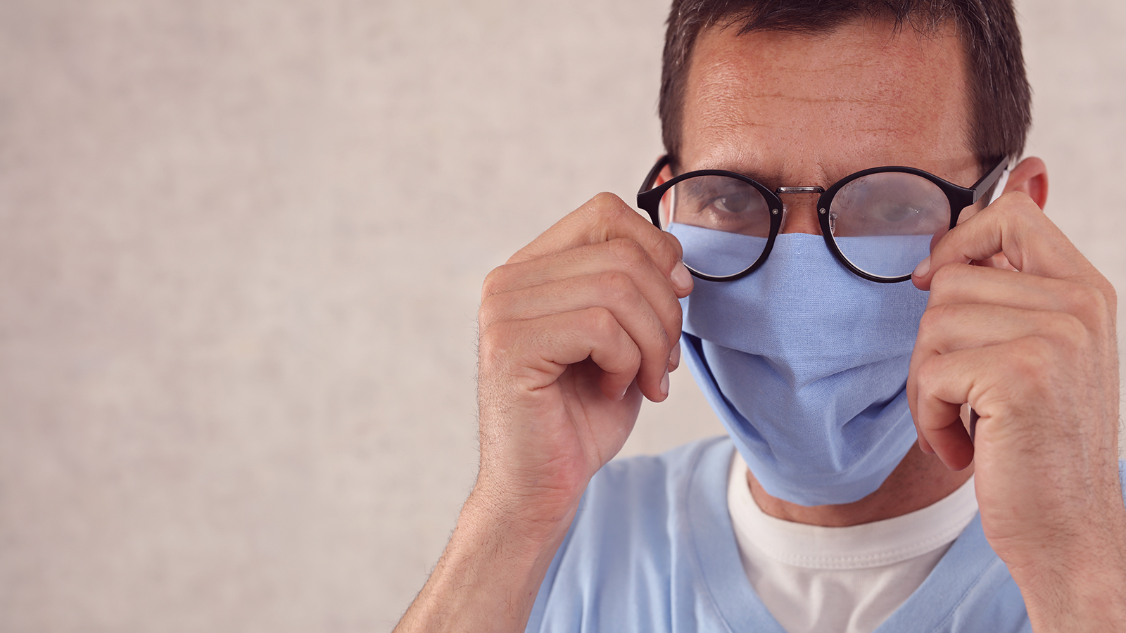 3 ways to keep your glasses from fogging and slipping while wearing a mask